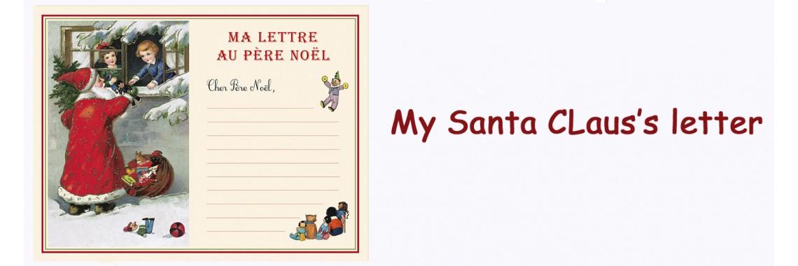 Santa Claus's letter