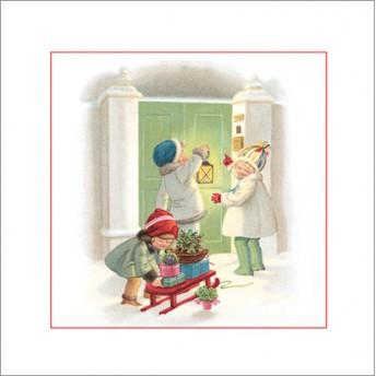 Postcard square Christmas gifts