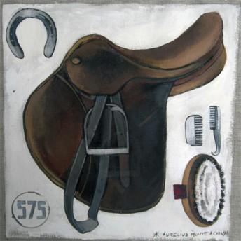 Postcard square saddle