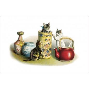 Postcard porcelain