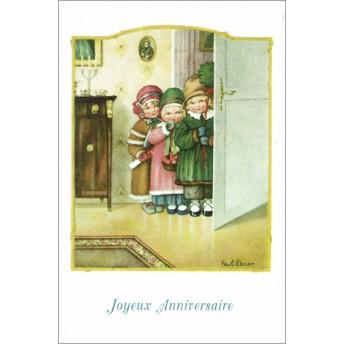 Carte postale la visite