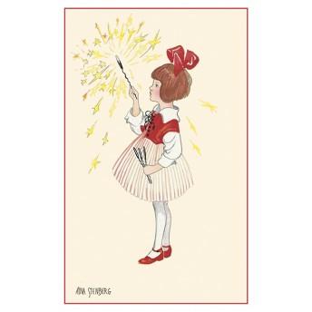 Postcard sparkler