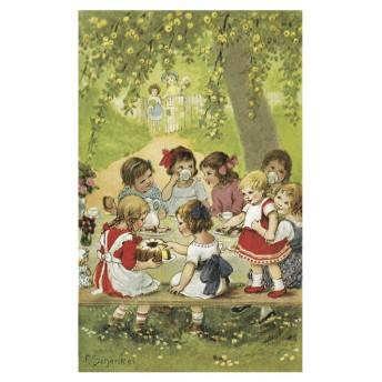 Postcard garden party