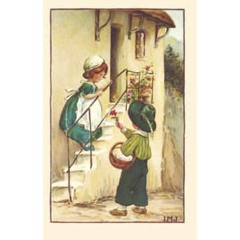 Postcard the admirer