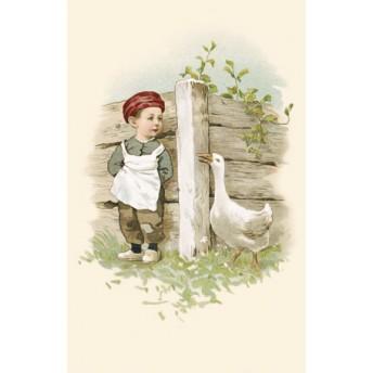Postcard the goose