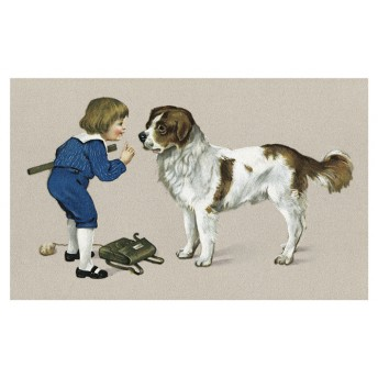 Postcard the big dog