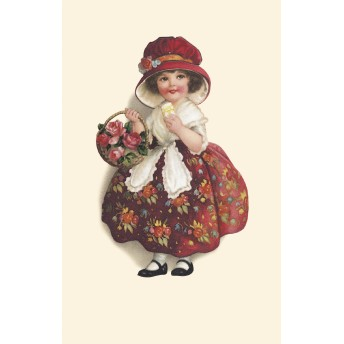 Postcard floral dress