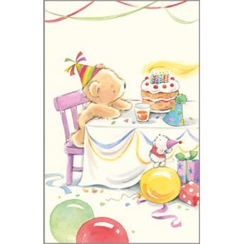 Postcard bear cake