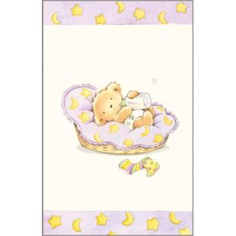 Postcard bear bassinet
