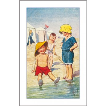 Carte postale au bord de l'eau