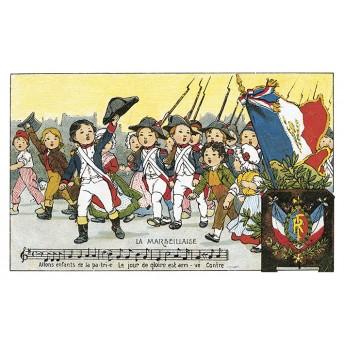 "Postcard "" la Marseillaise """
