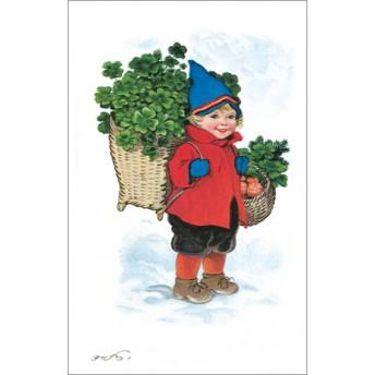 Postcard clover