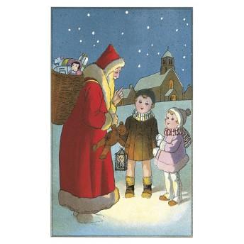 Postcard Santa Claus
