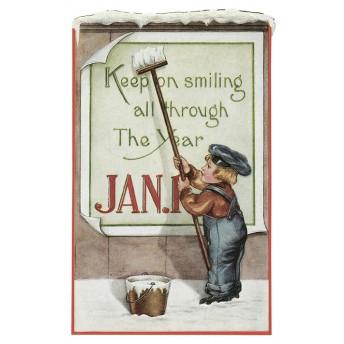 Postcard poster sticker