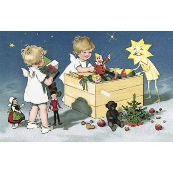 Postcard toys's box