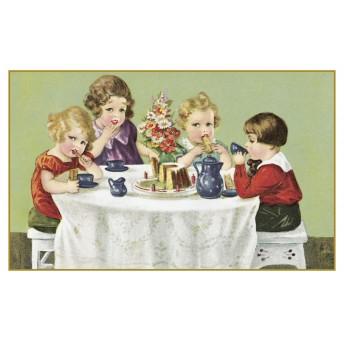 Postcard the tea party