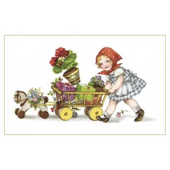 Postcard cart