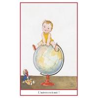 Carte postale globe-trotter