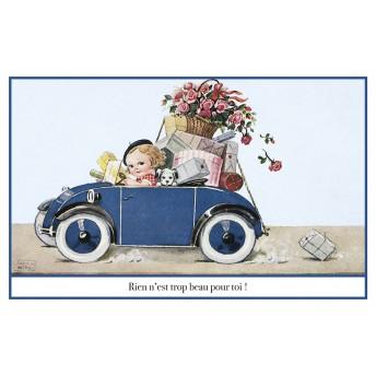 Postcard car gift