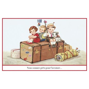 Postcard box