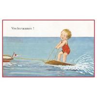 Postcard water sport