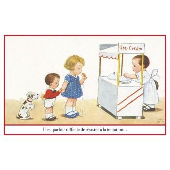 Postcard Ice cream