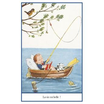 Postcard angling