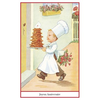 Postcard pastry chef
