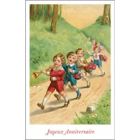 Postcard parade