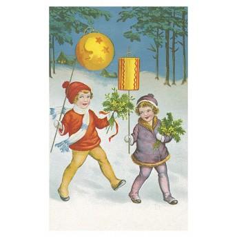 Postcard lantern
