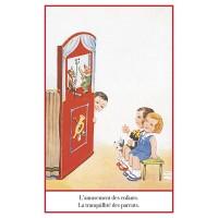 Postcard puppet