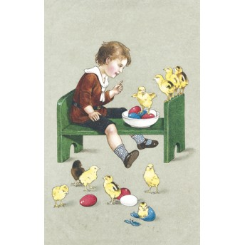 Postcard chicks