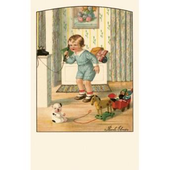 Postcard phone