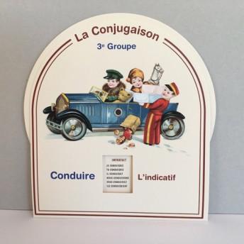Disque Conjugaison 3e groupe