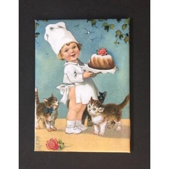 Magnet cat baker